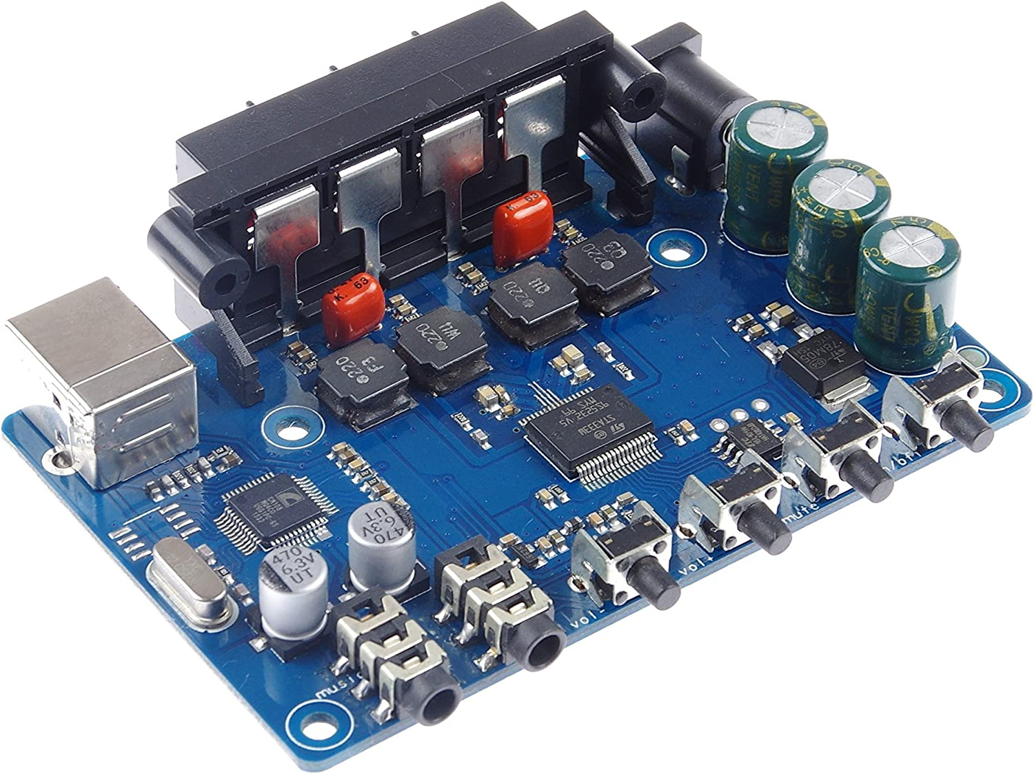 KNACRO Digital Power Amplifier Board With Attention brand Sound Stereo USB Max 77% OFF 220W