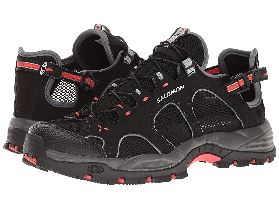 Salomon Techamphibian 3 (Black/Dark Cloud/Papaya) Women