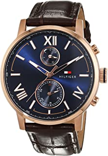 Tommy Hilfiger Casual Watch For Men Analog Leather - 1791308