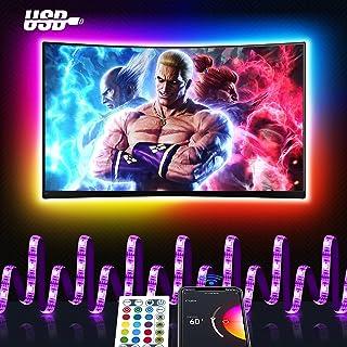 Smart LED Strip 3M, Maxcio USB Alexa TV-achtergrondverlichting LED-strip, Compatibel met Alexa en Google home WIFI RGB TV-...