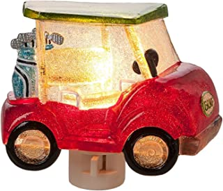 Midwest-CBK Red Golf Cart Hauling Clubs Electric Night Light