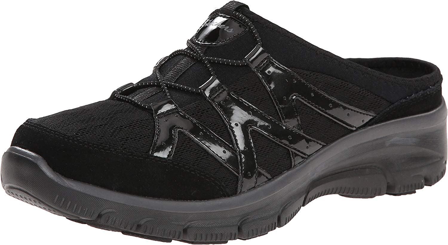 Skechers Woherren Easy Going Repute Mule,schwarz,11 M US