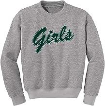FerociTees Girls Shirt Rachel Monica (Green) Crewneck Sweatshirt