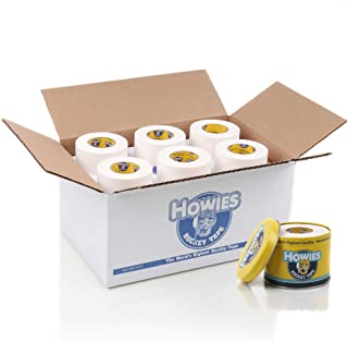 "Howies Hockey Tape - 1.5"" White Cloth Hockey Tape (18 Pack)"