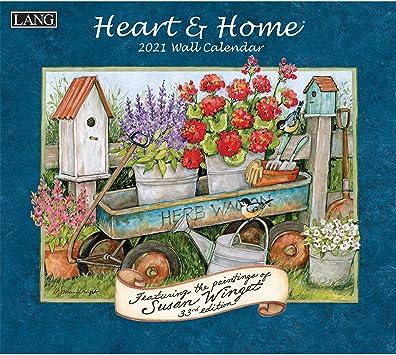 Lang Calendar 2021 Amazon.: Lang Heart & Home 2021 Wall Calendar (21991001913