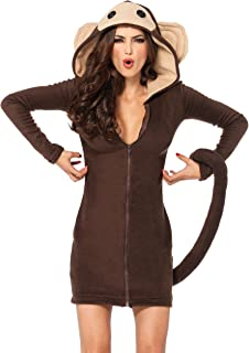 Leg Avenue Women's Cozy Monkey Costume