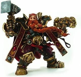 DC Comics World of Warcraft: Series 6: Dwarven King: Magni Bronzebeard Action Figure