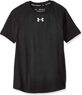 Under Armour Boy's Charged Cotton Short Sleeve Top