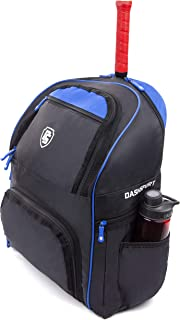 DashSport Tennis Backpack 3 Racket Capacity with Pockets for Racquet Protection - for Men Women and Kids