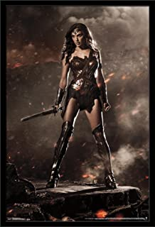 Trends International Wall Poster Batman Vs Superman Wonder Woman, 22.375 x 34