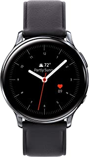 Samsung Galaxy Watch Active2 W/Enhanced Sleep Tracking Analysis, Auto Workout Tracking, and Pace Coaching (40mm, GPS, Bluetooth, Unlocked LTE), Silver - US Version with Warranty