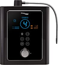 Prime 501-LV Series Alkaline Water Black | KFDA Certificate of Medical No. 5427 | Max Large 13 Plates Electrodes | Premium Dual Filtration System | Produces pH 3.5-11 | 8 Water Settings |