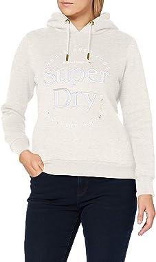 Superdry Established Hood Sweat à Capuche Femme