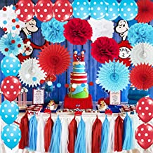 Dr Seuss Baby Shower Table Decorations  from m.media-amazon.com