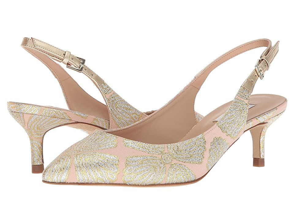 L.K. Bennett Ava (Ballerina Metallic Jacquard Fabric) High Heels