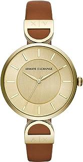 Reloj Armani Exchange Brooke para Mujer 38mm, pulsera de Piel de Becerro