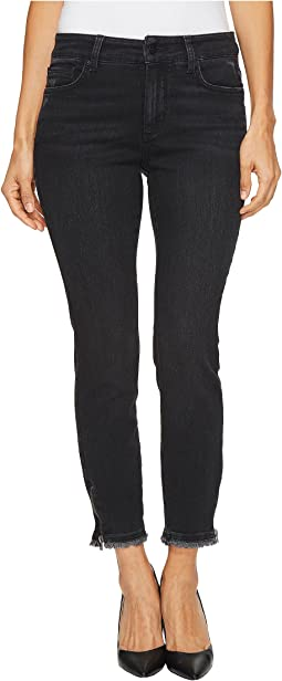 NYDJ Petite - Petite Ami Skinny Ankle w/ Zipper in Campaign
