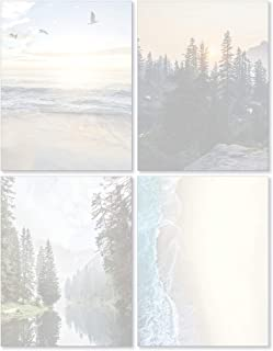 Scenic Nature Stationery - Pack of 48