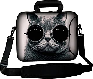 LUXBURG 12  Inch Design Laptop Notebook Sleeve Soft Case Bag With Handle and Shoulder Strap The Boss