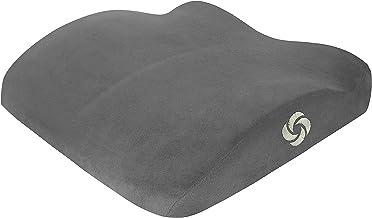 Samsonite SA5454 Ergonomic Soft Seat Cushion with 100% Pure Memory Foam Gray