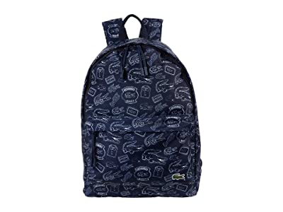 Lacoste Neocroc Backpack (Clay/Navy Blue/Antirrhinum/Camouflage/Archipelago) Backpack Bags