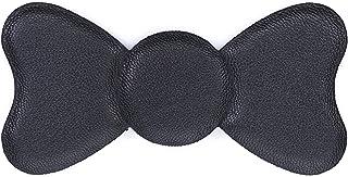 Kamipita フェイクレザー 無地 リボン(10*5cm) (ブラック)