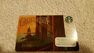 Starbucks 2016 CA California State Collectible Gift Card No Value