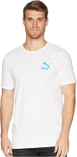 PUMA Summer Tropical Logofill Tee