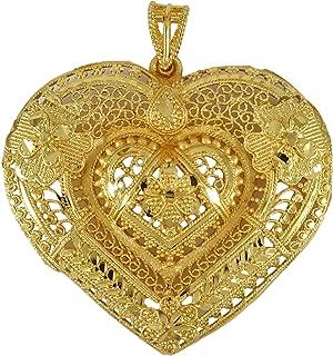 Banithani Goldplated Traditional Indian Ethnic Chain Pendant Women Jewelry
