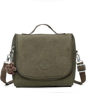 Kipling Kichirou Lunch Bag Jaded Green Tonal