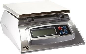 My Weigh Balance de Cuisine 7Kg 1g, INOX, Silber, 17,5x17,5x14 cm