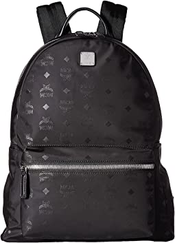 Dieter Monogrammed Nylon Medium Backpack