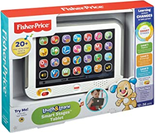 Fisher Price Smart Stages Grey Tablet - CDG33