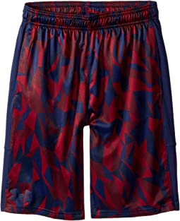 Under Armour Kids Instinct Printed Shorts (Big Kids)