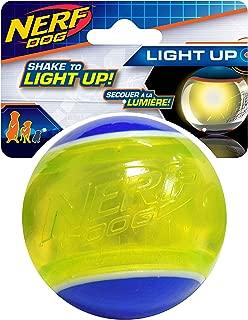 nerf led blaze tennis ball dog toy