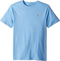 Polo Ralph Lauren Kids Cotton Jersey Crew Neck T-Shirt (Big Kids)