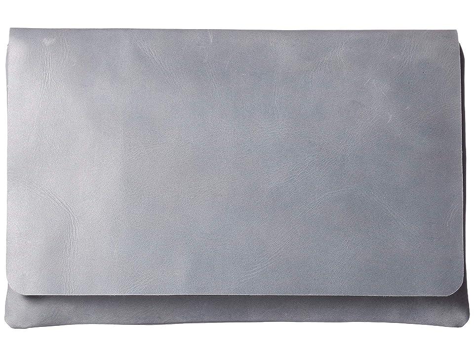 ABLE Mare Zip Clutch (Denim Blue) Handbags
