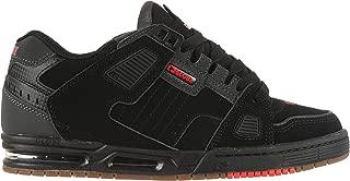 Globe Sabre Skate Shoes Black/Charcoal/Red Mens Sz 8.5