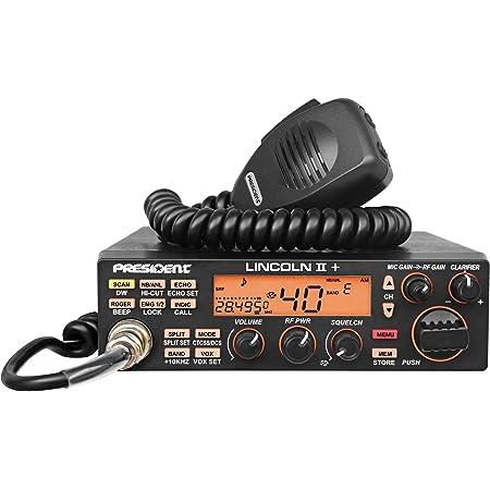 President Lincoln II Plus 10 and 12 Meter Ham Radio