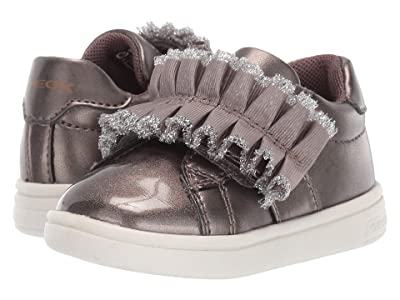 Geox Kids Djrock 32 (Toddler) (Taupe) Girls Shoes