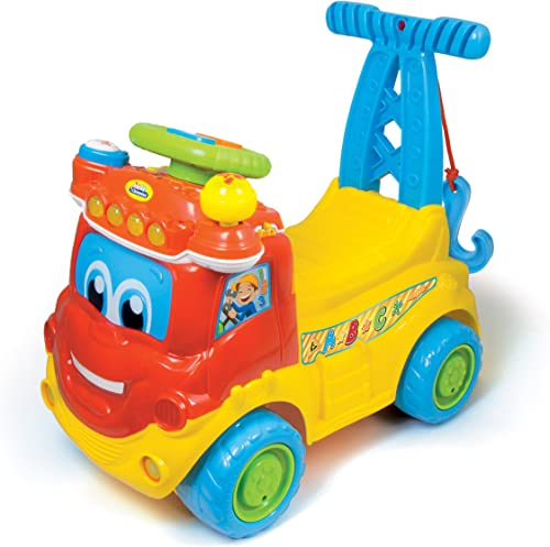 bienvenido a orden Baby Clementoni - MAX, camión Educativo 4 4 4 en 1, Juguete con Sonido (651405)  comprar barato