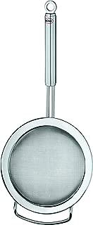 Rösle Stainless Steel Round Handle Kitchen Strainer, Fine Mesh, 4.7-inch