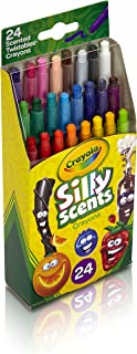 Crayola Sly 24 Count Mini Twist Scented Crayons
