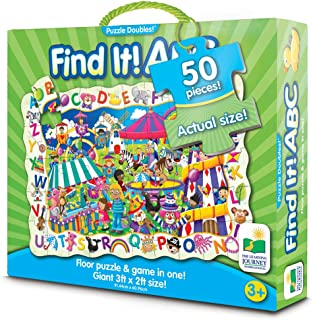 The Learning Journey Puzzle Doubles Find It! ABC Floor Puzzle
