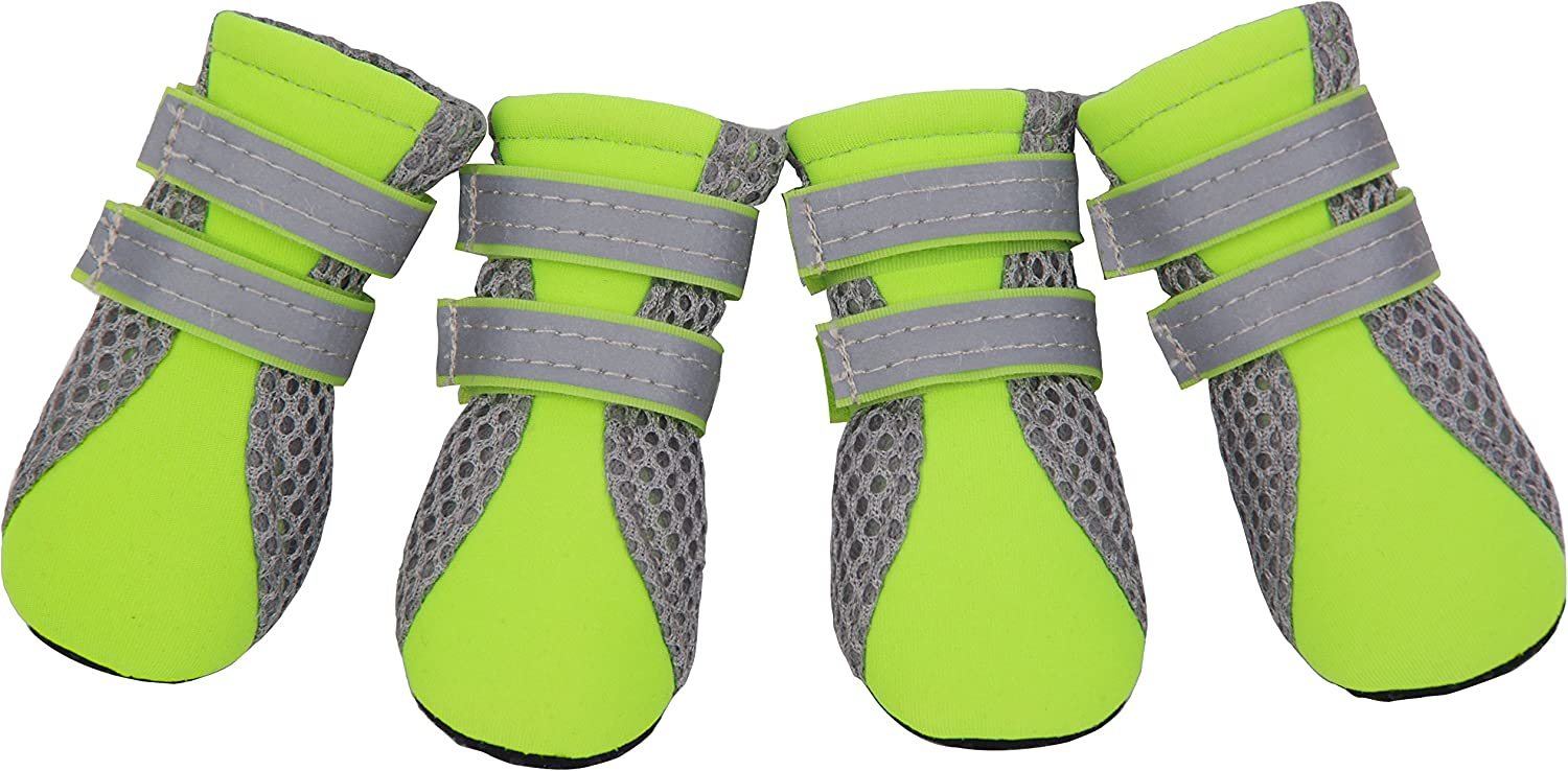 HiPaw Breathable Dog Boots Winter Nonslip Rubber Sole for Small Dog