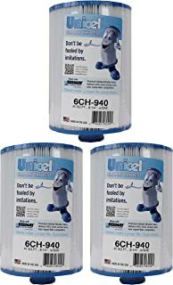 Unicel 3 New 6CH-940 Waterway Vita Aber Spa Filter Replacement Cartridges 6CH940