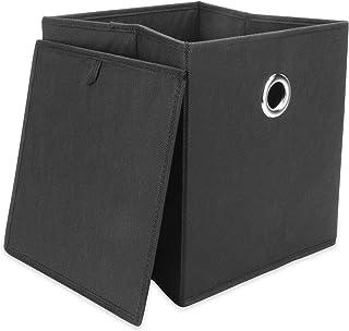 Ensemble de 6 boîtes de rangement pliables | Boîtes pliables pour le stockage de la chambre et de la maison | Paniers de r...