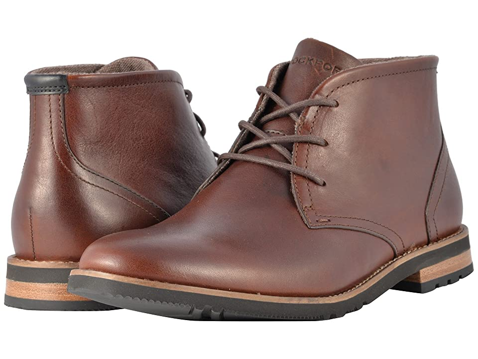 Rockport Ledge Hill 2 Chukka Boot (Dark Brown) Men
