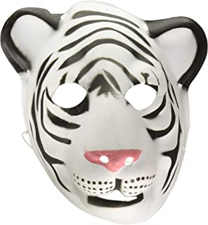 Wild Republic White Tiger Mask, Kids Gifts, Costumes, Face Mask, Dress Up, Zoo Animals