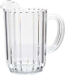 Rubbermaid Commercial Bouncer Pitcher, 32 Ounce, Clear, FG333600CLR